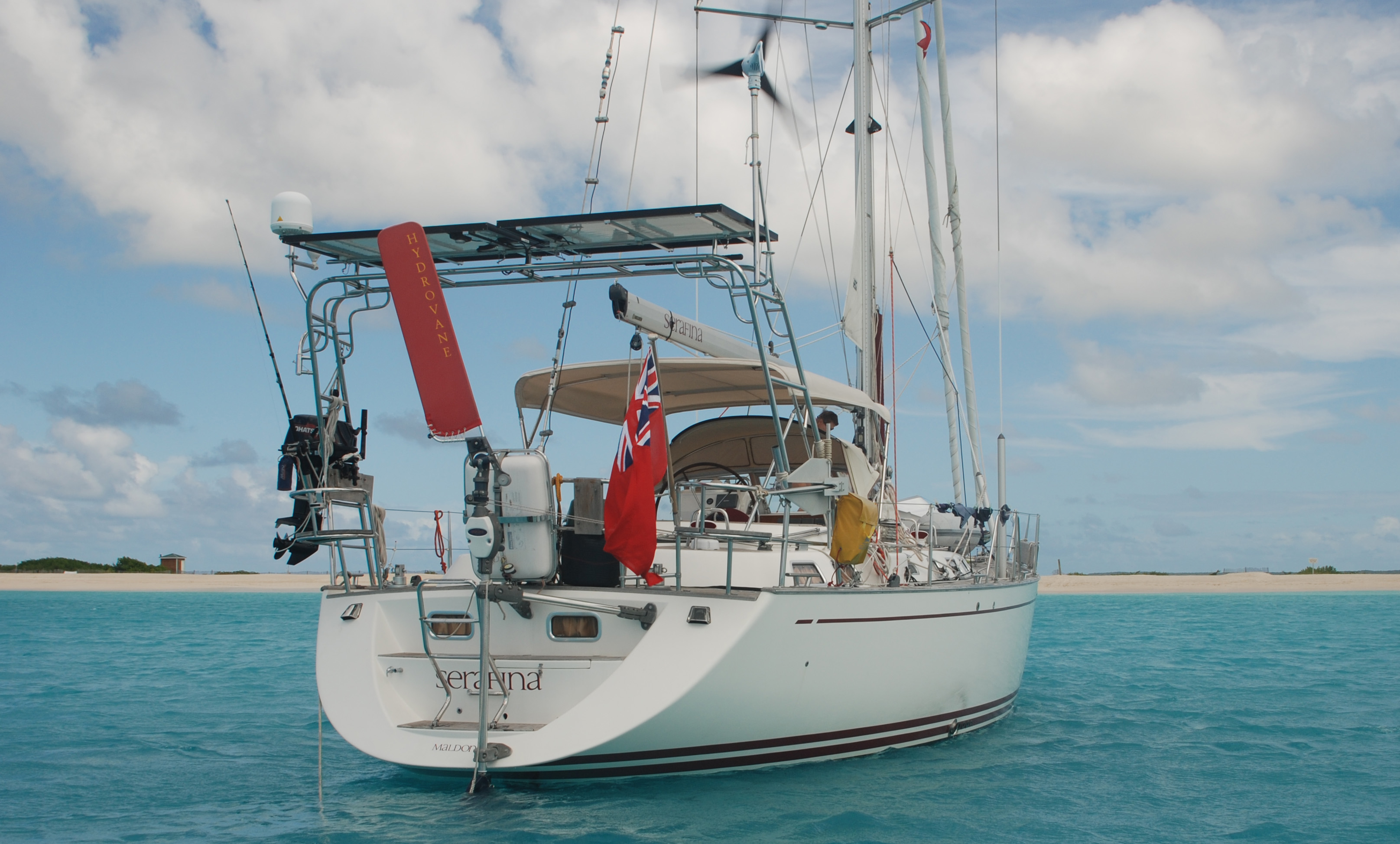 True Stories Hydrovane Wiring Diagram For Baja Islander Anchor Light Contact