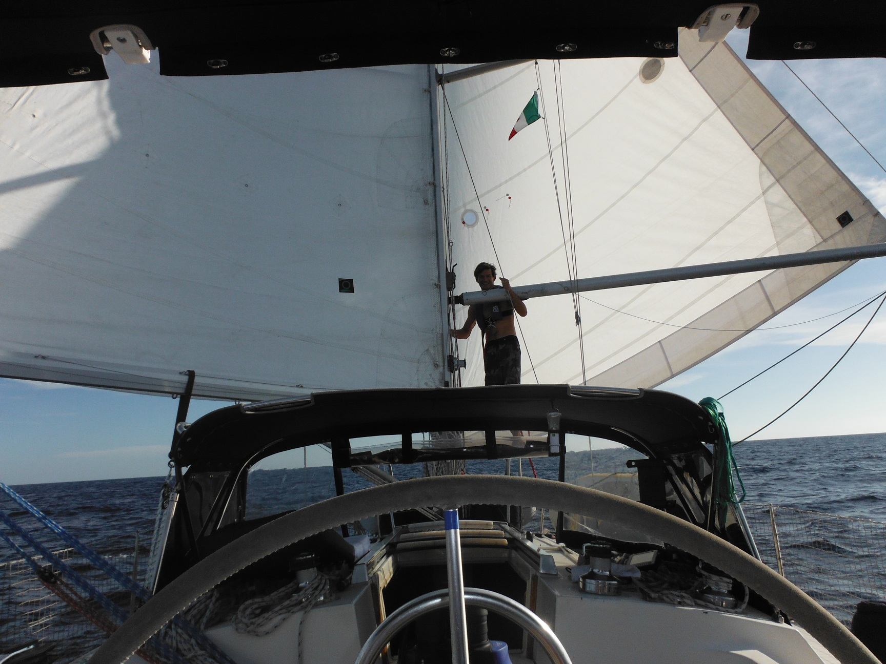 Downwind sailplan